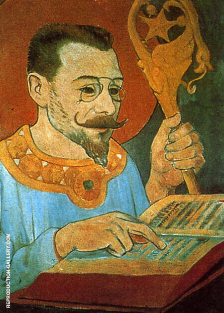 Portrait of Paul Ranson 1890 By Paul Serusier