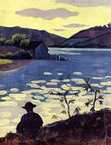 Fisherman on the Laita 1890 By Paul Serusier
