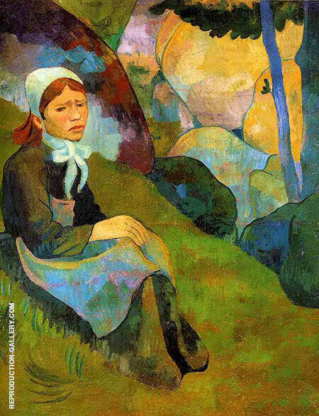 Serusier Solitude Rennes 1891 Painting By Paul Serusier