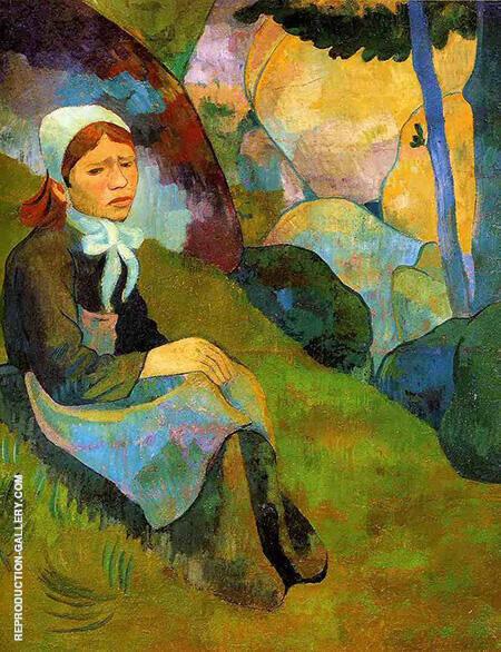 Serusier Solitude Rennes 1891 By Paul Serusier