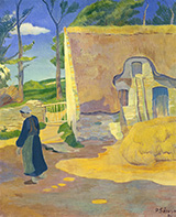 Farmhouse at Le Pouldu 1890 By Paul Serusier