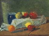 Nature Morte aux Pommes et Citrons c1911 By Paul Serusier
