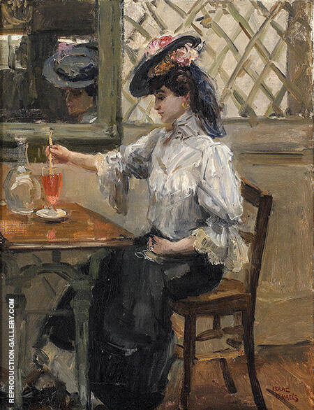 In Het Cafe c1905 By Isaac Israels