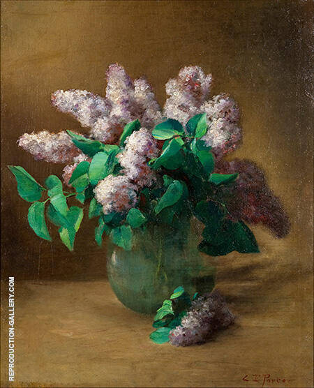 Lilacs c1879 Painting By Charles E Porter - Reproduction Gallery