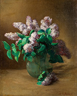 Lilacs c1879 By Charles E Porter