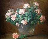 Roses c1882 By Charles E Porter