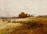 Autumn Landscape c1890 By Charles E Porter