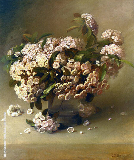 Reproduction of Mountain Laurel by Charles E Porter | Oil Painting Replica On CanvasReproduction Gallery