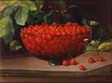 Bowl of Cherries c1890 By Charles E Porter