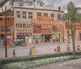 Fredericksburg Cafe 1949 By Palmer Hayden