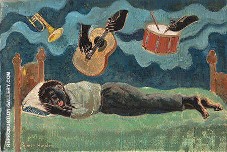 Untitled c1930 By Palmer Hayden