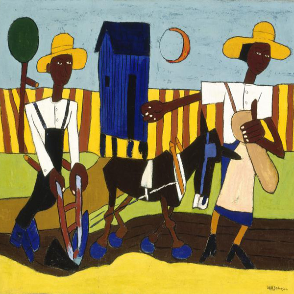 Oil Painting Reproductions of William H Johnson