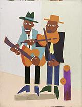 Street Musicians c1939-40 By William H Johnson