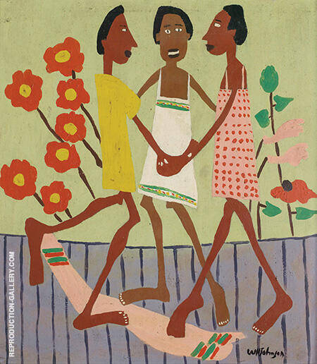 Ring Around the Rosey By William H Johnson