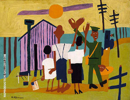 Off to War 1942 By William H Johnson