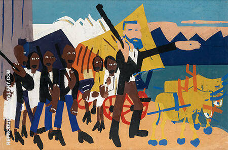 On a John Brown Flight By William H Johnson