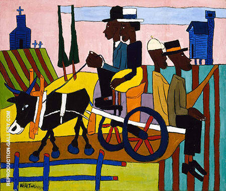 Going to Church c1940-41 By William H Johnson