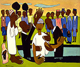 I Baptize Thee By William H Johnson