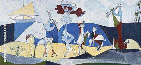 Joie de Vivre 1946 By Pablo Picasso - Oil Paintings & Art Reproductions - Reproduction Gallery