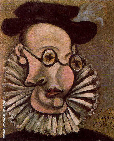 Portrait of Jaime Sabartes as Grandee 1939 By Pablo Picasso - Oil Paintings & Art Reproductions - Reproduction Gallery