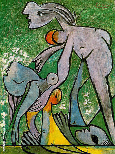 The Rescue 1932 By Pablo Picasso - Oil Paintings & Art Reproductions - Reproduction Gallery