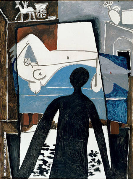 Reproduction of The Shadow 1953 by Pablo Picasso | Oil Painting Replica On CanvasReproduction Gallery