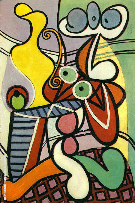 Nude and Still Life 1931 By Pablo Picasso - Oil Paintings & Art Reproductions - Reproduction Gallery