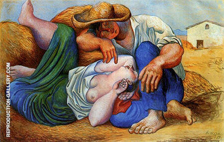 Sleeping Peasants 1919 By Pablo Picasso - Oil Paintings & Art Reproductions - Reproduction Gallery