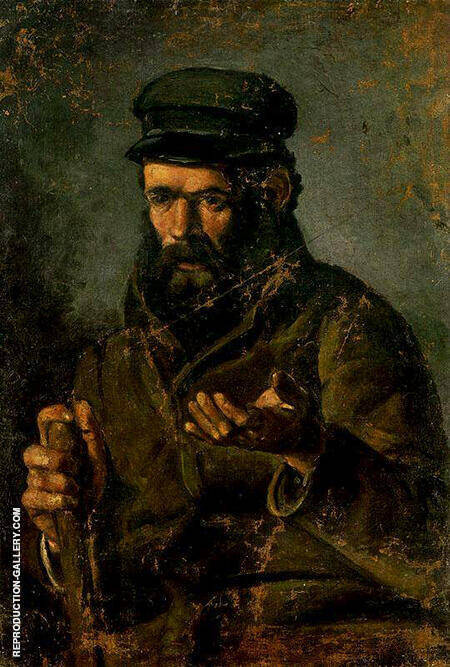 Beggar in a Cap 1895 By Pablo Picasso - Oil Paintings & Art Reproductions - Reproduction Gallery