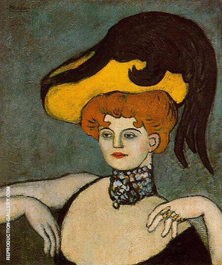 The Kept Woman 1901 By Pablo Picasso - Oil Paintings & Art Reproductions - Reproduction Gallery