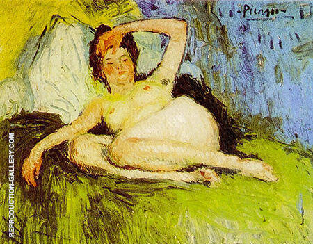 Jeanne Female Nude 1901 By Pablo Picasso