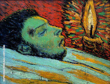 The Death of Casagemas 1901 By Pablo Picasso - Oil Paintings & Art Reproductions - Reproduction Gallery