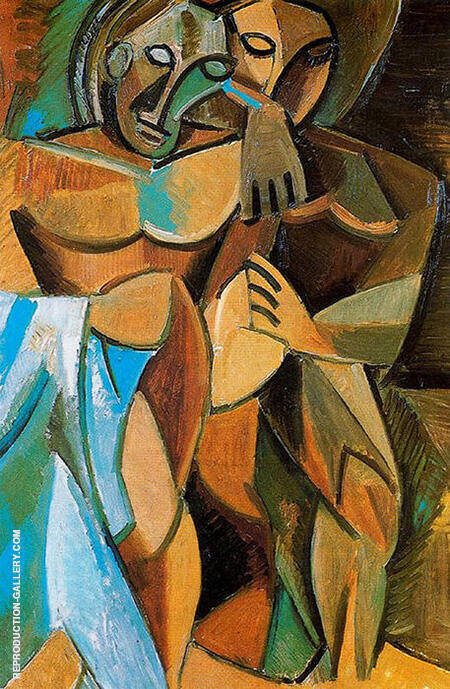 Friendship 1907 By Pablo Picasso - Oil Paintings & Art Reproductions - Reproduction Gallery