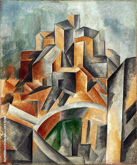 The Reservoir 1909 By Pablo Picasso