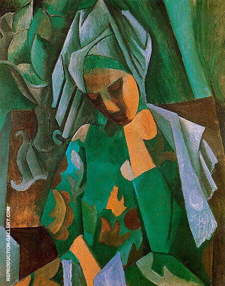 Queen Isabella 1908 By Pablo Picasso - Oil Paintings & Art Reproductions - Reproduction Gallery