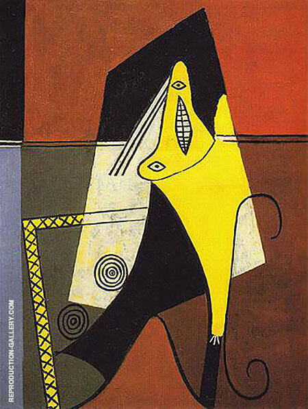 Figure 1924 By Pablo Picasso - Oil Paintings & Art Reproductions - Reproduction Gallery