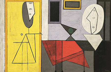 The Studio 1927 By Pablo Picasso - Oil Paintings & Art Reproductions - Reproduction Gallery