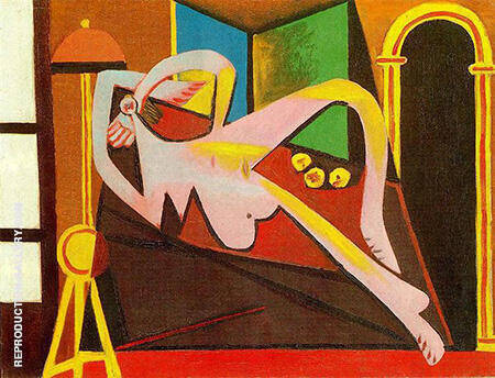 Reproduction of Reclining Woman 1929 by Pablo Picasso | Oil Painting Replica On CanvasReproduction Gallery