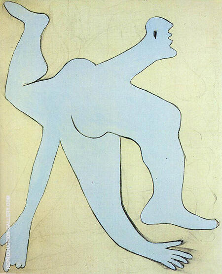 The Blue Acrobat 1929 By Pablo Picasso - Oil Paintings & Art Reproductions - Reproduction Gallery