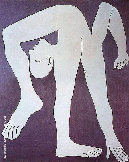 The Acrobat 1930 By Pablo Picasso