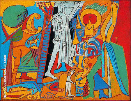 The Crucifixion 1930 By Pablo Picasso - Oil Paintings & Art Reproductions - Reproduction Gallery