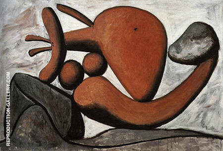 Woman Throwing a Stone 1931 By Pablo Picasso