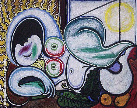 Reclining Nude 1932 By Pablo Picasso - Oil Paintings & Art Reproductions - Reproduction Gallery