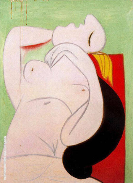 Sleep 1932 By Pablo Picasso - Oil Paintings & Art Reproductions - Reproduction Gallery