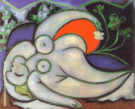 Reclining Nude B 1932 By Pablo Picasso