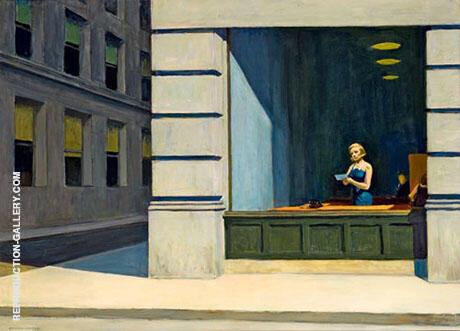 New York Office By Edward Hopper