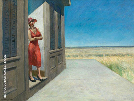 South Carolina Morning 1955 By Edward Hopper