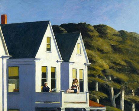 Second Storey Sunlight 1960 By Edward Hopper