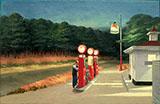 Gas 1940 By Edward Hopper