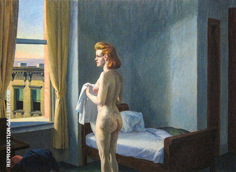 Morning in a City 1944 By Edward Hopper